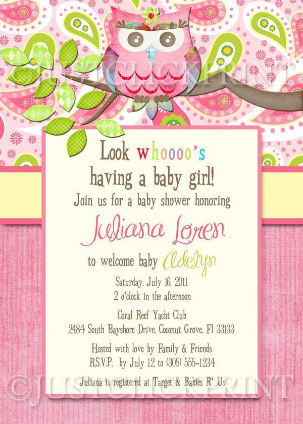 Nice Wording For Baby Shower Invitations After Baby Born Baby - Baby girl shower invitation wording