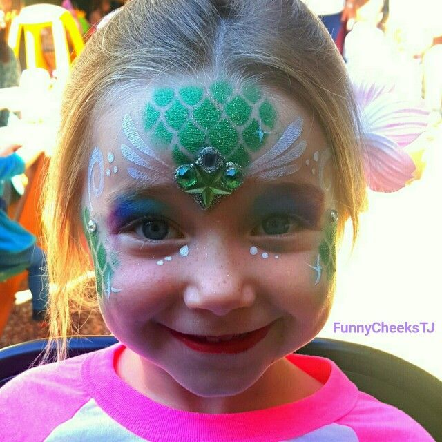 child mermaid makeup , Google Search