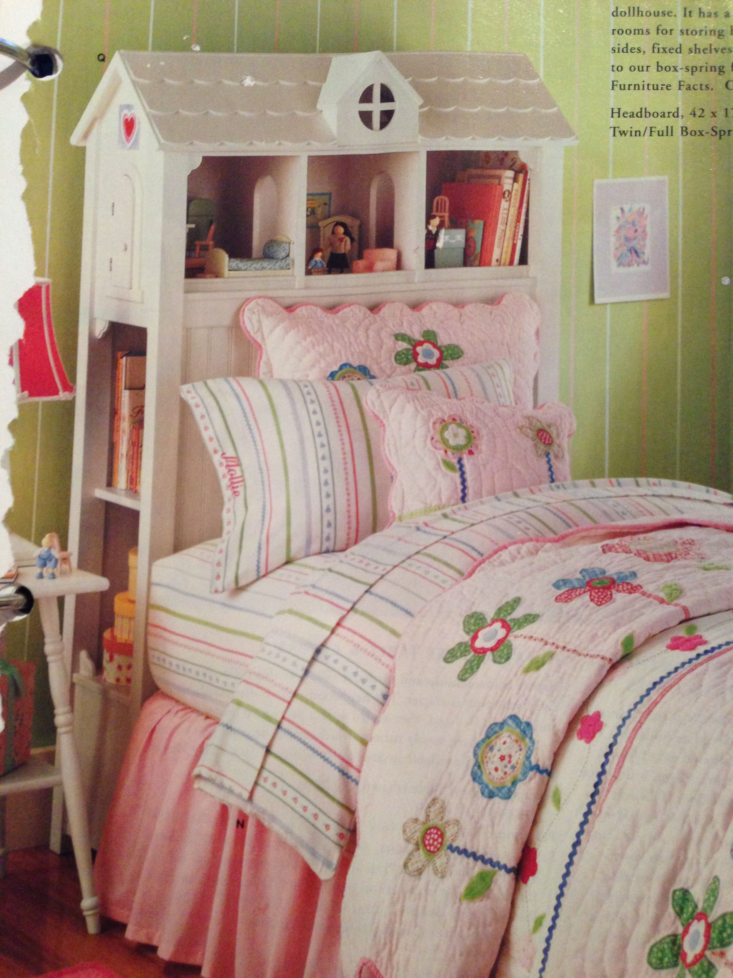 Pottery Barn dollhouse headboard 550 (DIY!) Spring