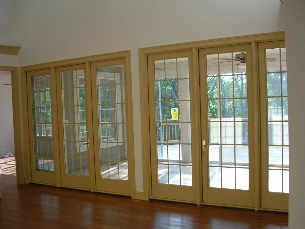 Modern Exterior French Doors modern-exterior-sliding-doors (1054×791) | penny floor | pinterest