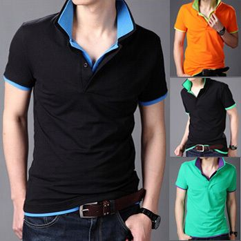 Click to Buy << BIG SALE Double collar lapel Wireless Laptop Mens T. >>