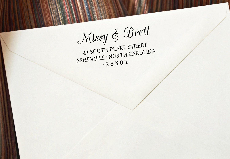 Return Address Stamps Self Inking Address by StampTheEnvelope ...