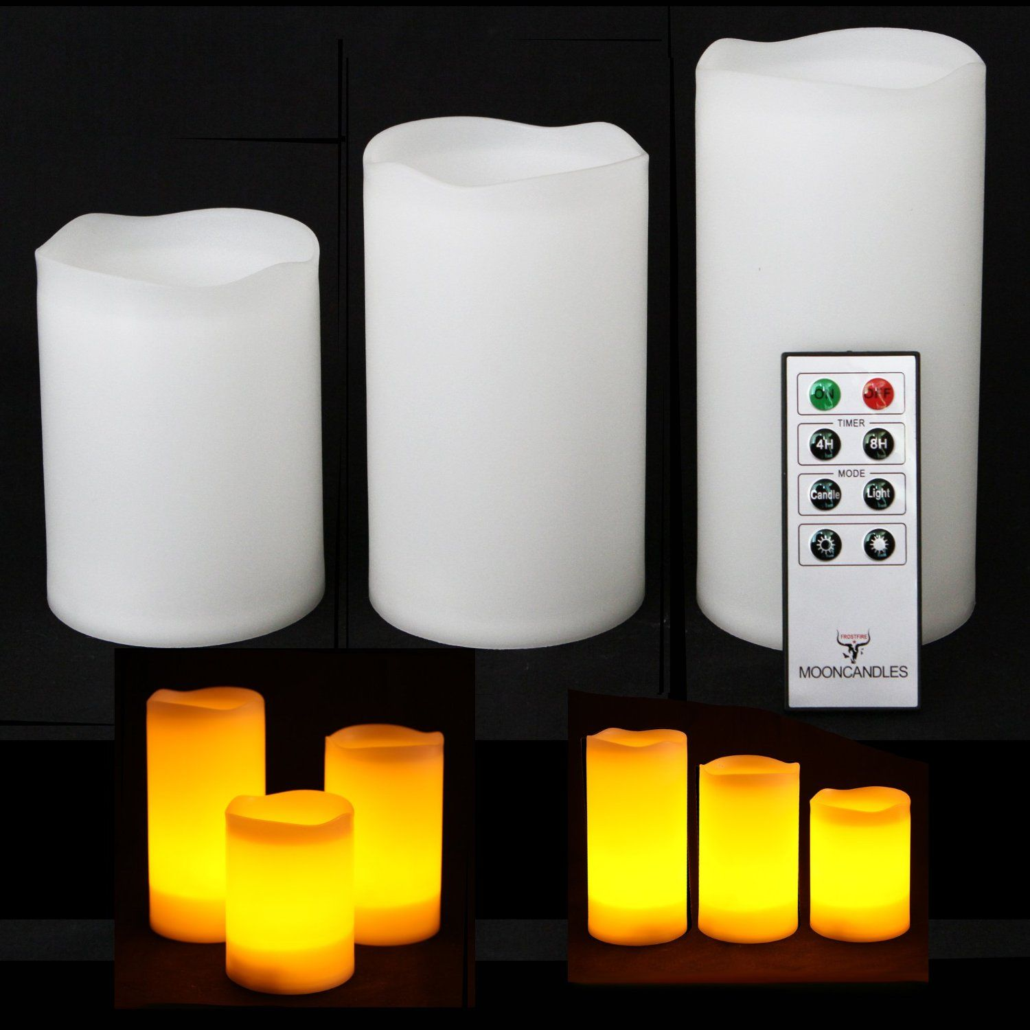 Remote Control For Outdoor Lights Three 4 5 and 6 weatherproof resin remote control color lights workwithnaturefo