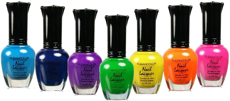 ALL 240 Kleancolor Nail Polish Klean Color LACQUER 0.5OZ EACH FAST ...