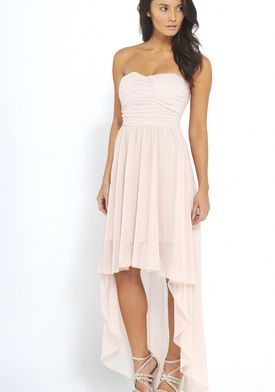AX Paris Off the Shoulder Asymmetric Hem Dress | Hem dress