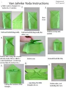 Page1 Origami Yoda Instructions Star Wars Crafts Kids And Parenting Tree Structure