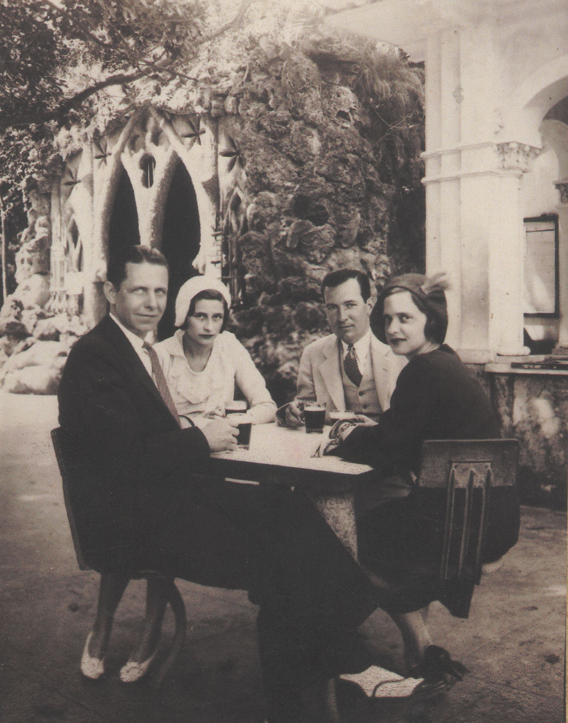 My parents and the Fletchers in Havana 1930