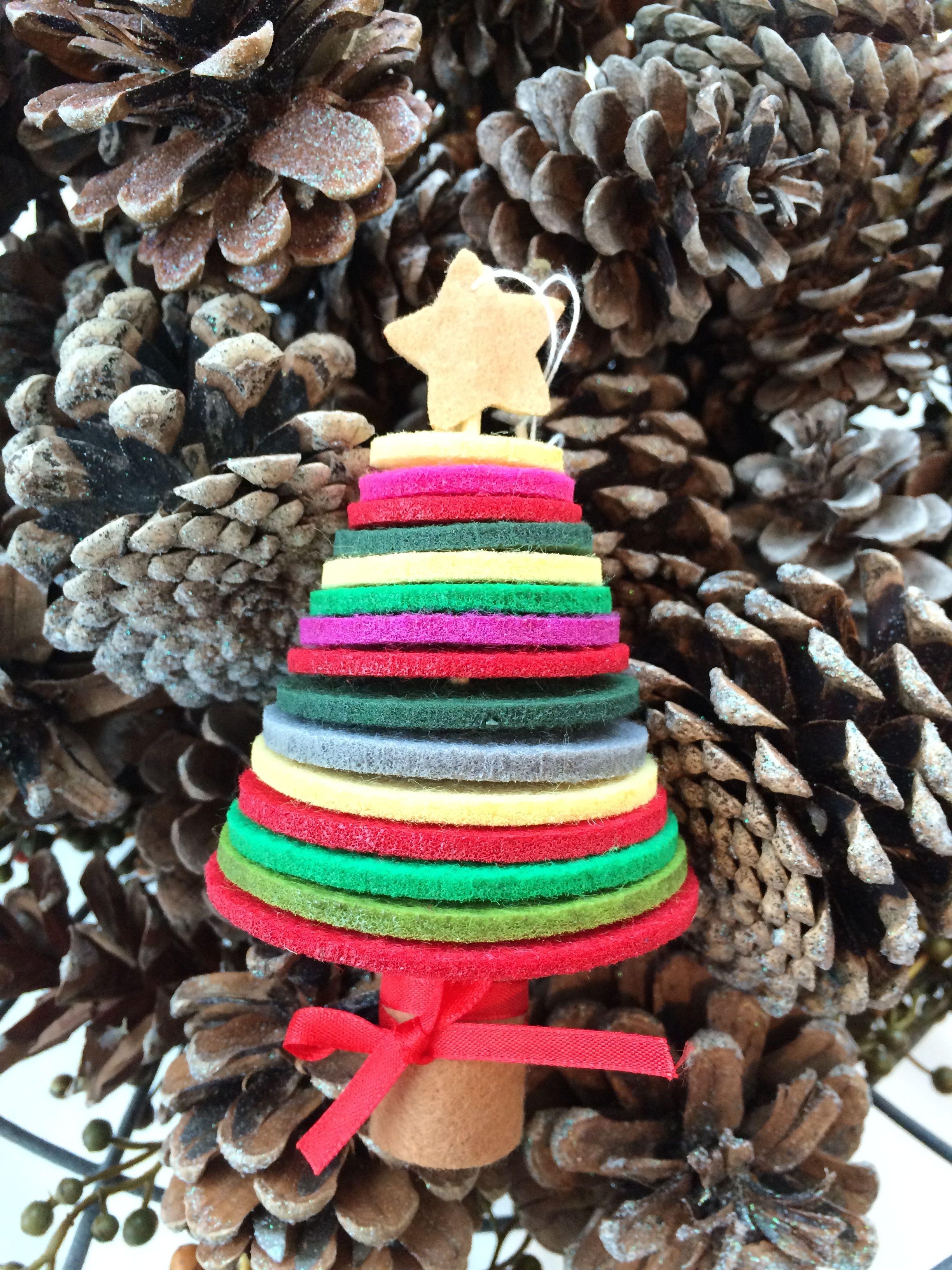 Felt Ornament Kit, Felt Christmas Tree, Christmas Ornament