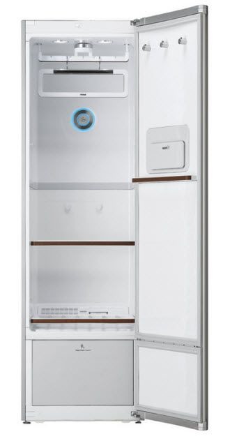 LG Styler, A Clothing Managament Cabinet, Refreshes And Steam Sprays Clothes