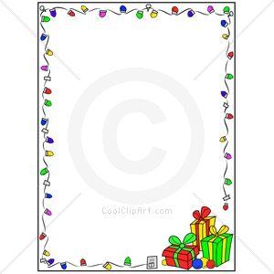 Clip Art Christmas Borders