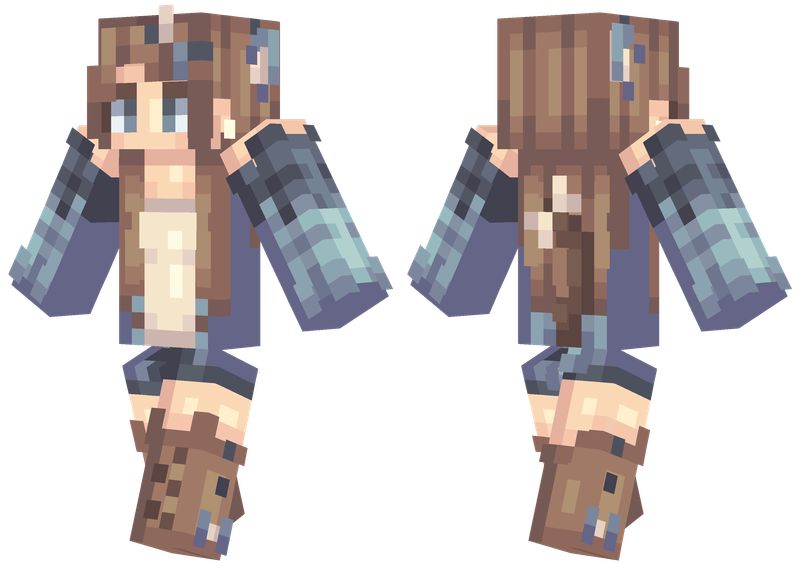 Country Kitty Minecraft skins, Skins for minecraft pe
