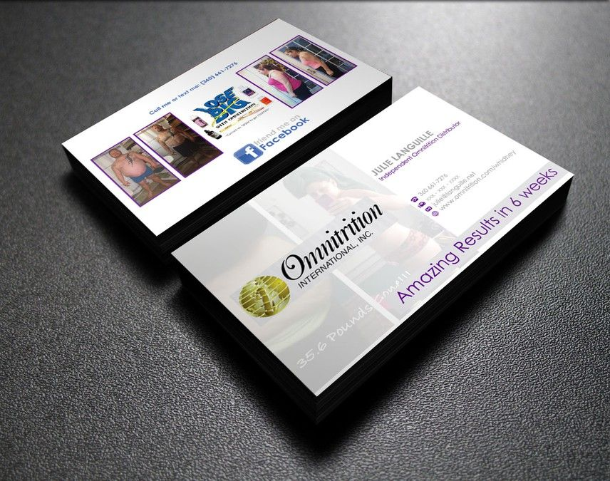 Create the next business card for Omnitrition International, Inc. by ...