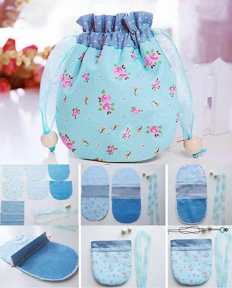 s ckchen mit nadel und faden taschen und t schchen bags to sew pinterest. Black Bedroom Furniture Sets. Home Design Ideas
