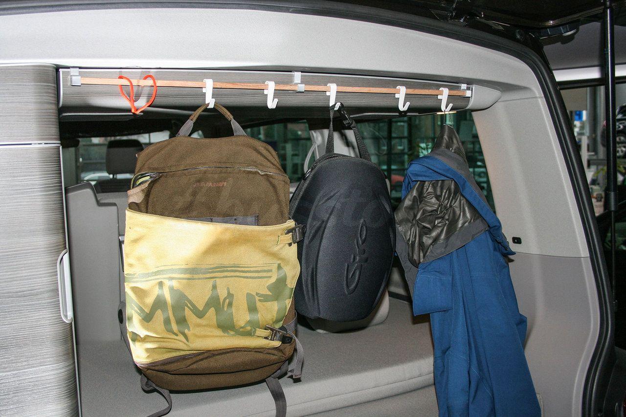 kleiderstange huckevoll california camping minivan camping und campingbus. Black Bedroom Furniture Sets. Home Design Ideas