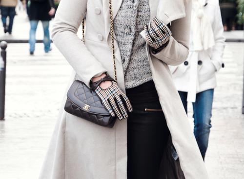 preppy winter style.