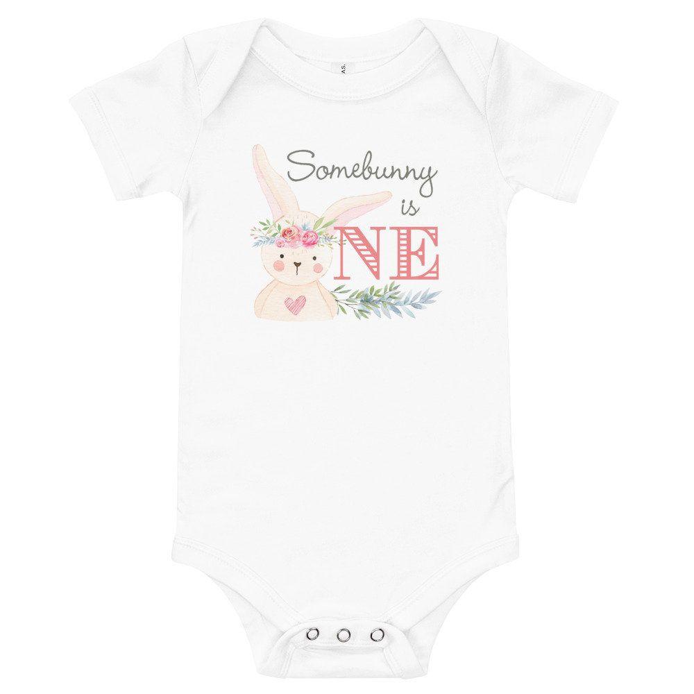 Easter Infant Bodysuit for Boy and Girl Little Miss Hippity Hop Baby Bodysuit Little Mister Hippity Hop Baby Bodysuit