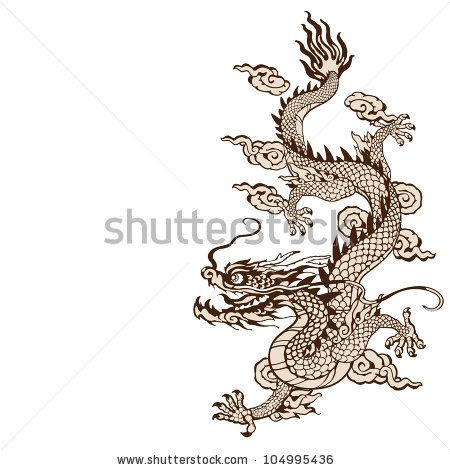Dragon Tattoo Stock Photos, Dragon Tattoo Stock Photography, Dragon Tattoo Stock Images : Shutterstock.com