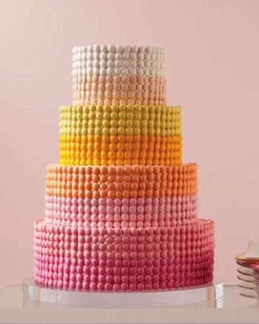 cute idea for decorating a cake: m