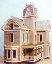 la maison victorienne maisons de poup es articles de d coration et construction miniatures. Black Bedroom Furniture Sets. Home Design Ideas
