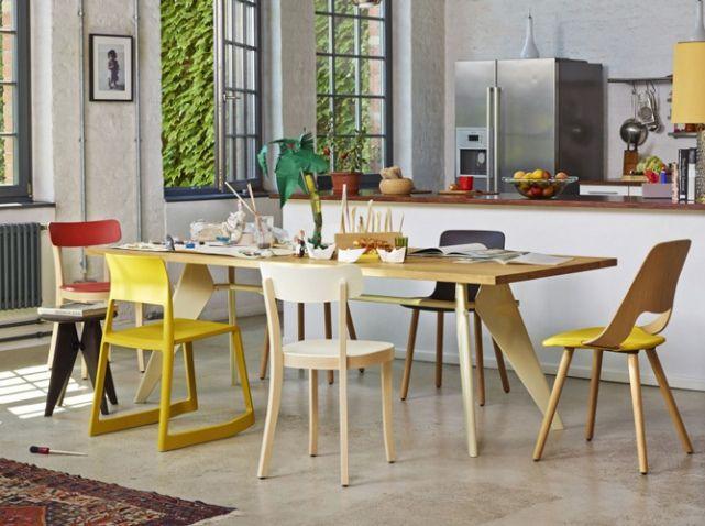 Chaises depareillees cuisine vitra | Cuisine / Kitchen | Pinterest ...