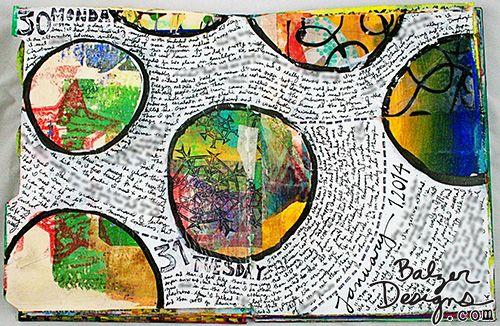 art journal inspiration...