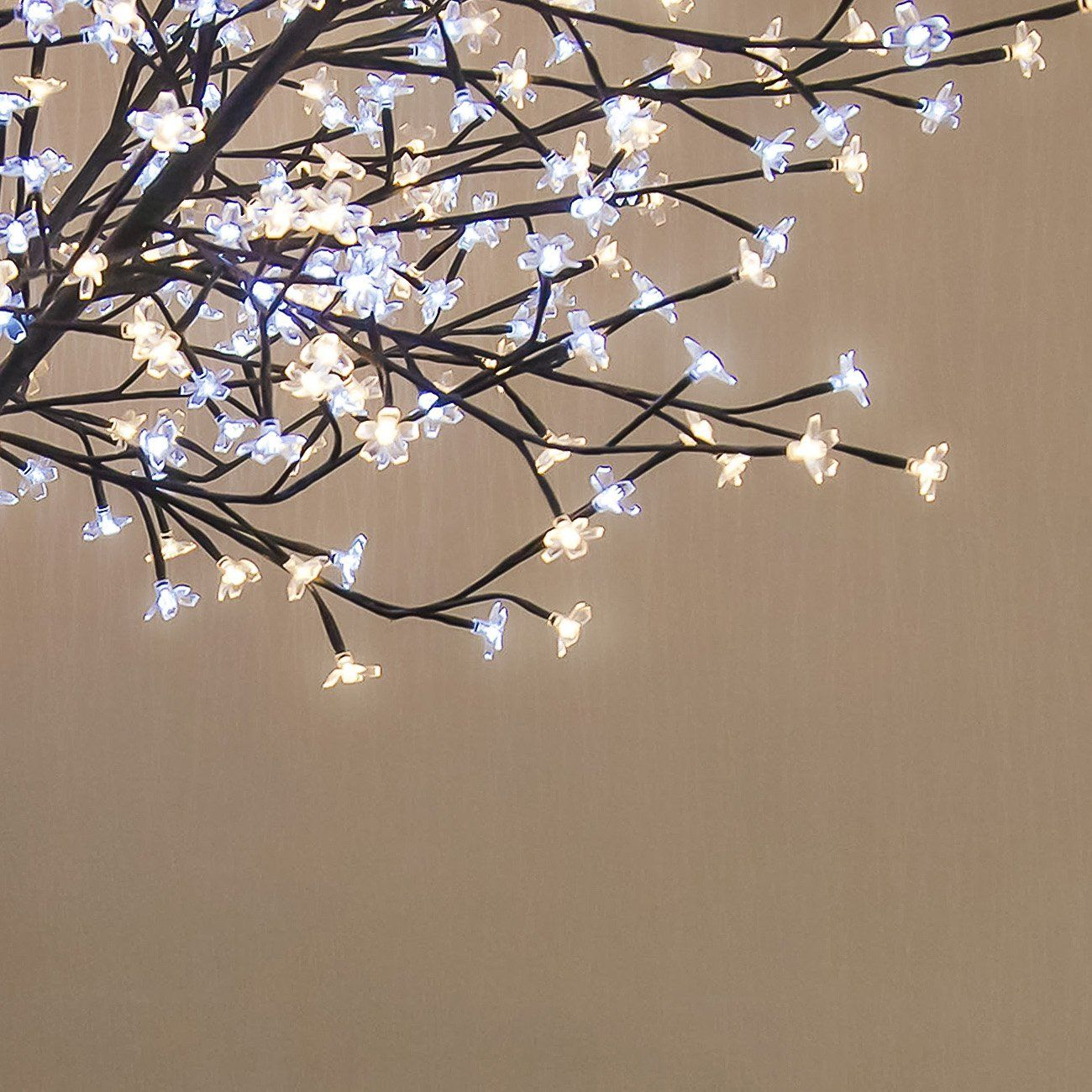 Benefitusa 8ft 600 Led Light Cherry Blossom Flower Tree Decoration Warm White And White You Can Get Cherry Blossom Flowers Flower Decorations Tree Lighting