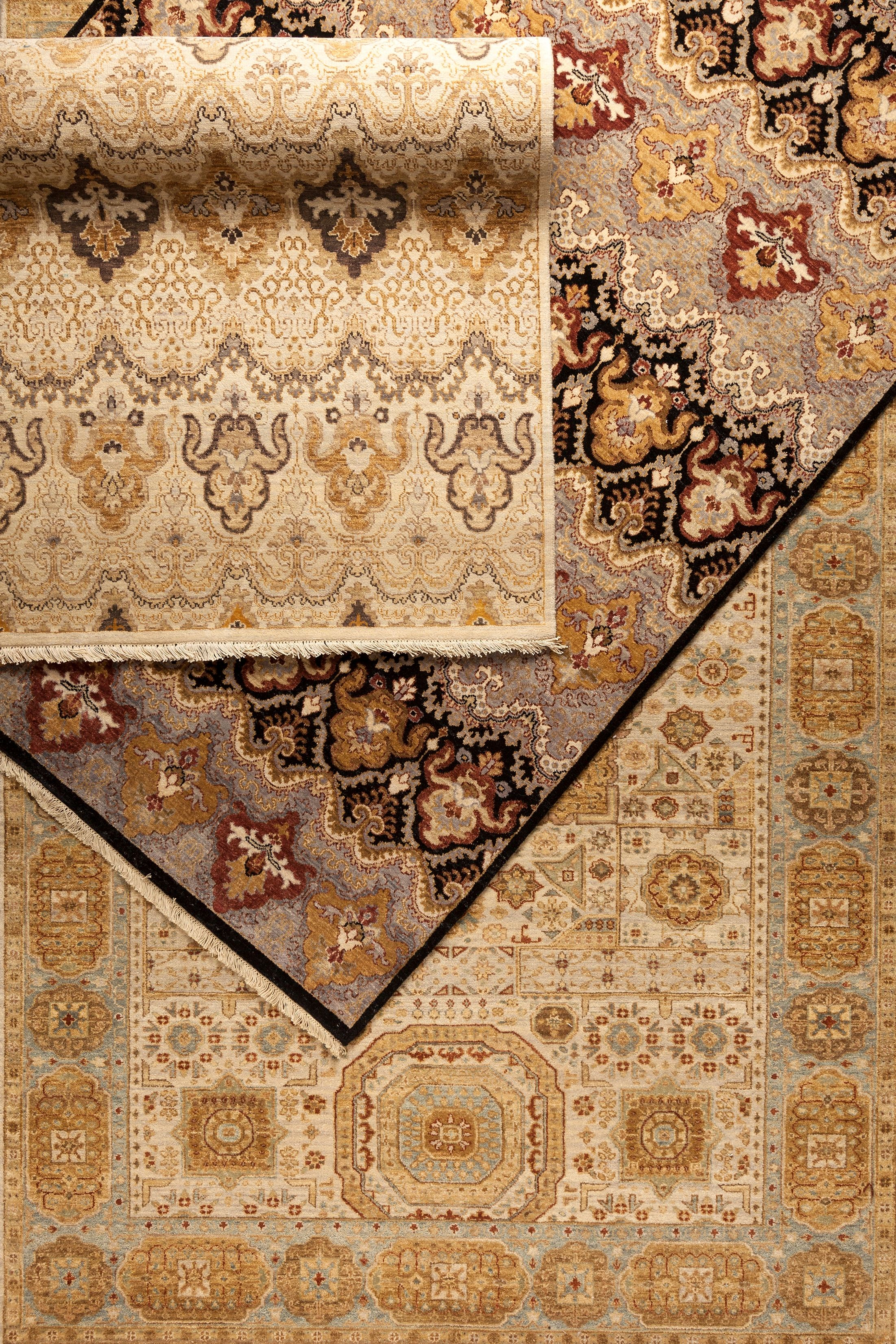 100% New Zealand wool Cambridge collection rugs from Surya.