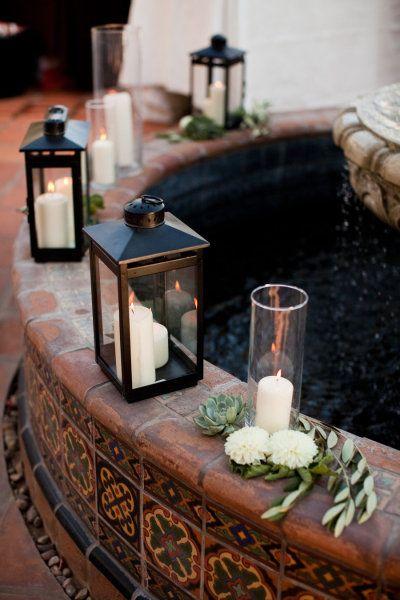 ideas luz decorar espacios clave como caminos escaleras borde de piscina mesas