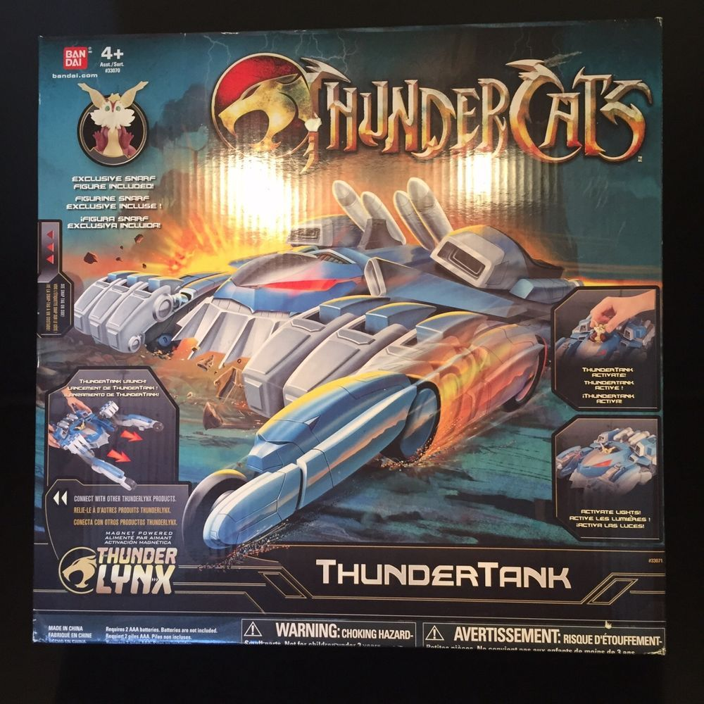 THUNDERCATS Thunder Tank Thunder Lynx Includes Snarf NEW 2011 Exclusive