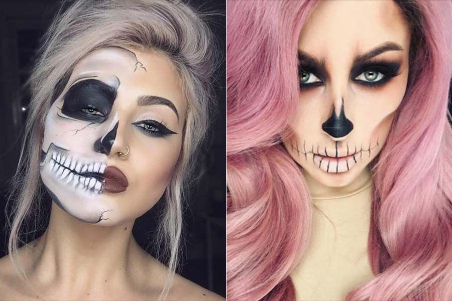 Muitas vezes Dicas de maquiagem para dia de Los Muertos. Para você se inspirar  FI17