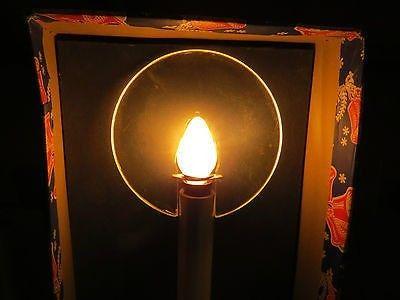 VINTAGE ROYAL DE LUXE HALO -LITE ( CHRISTMAS CANDLE) (12/05/2013)