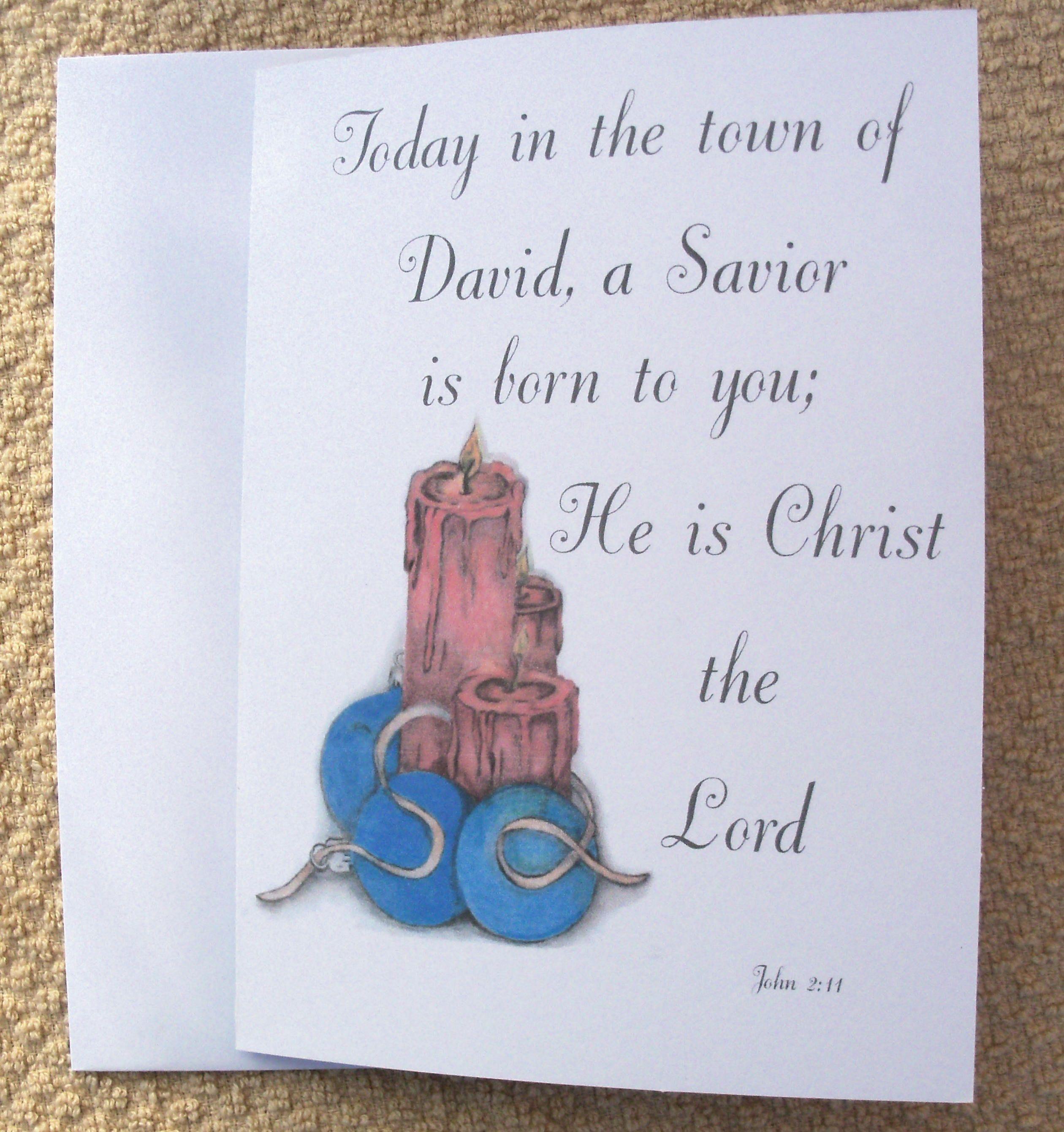 Christmas Cards / Christian Christmas Cards / Holiday Cards ...