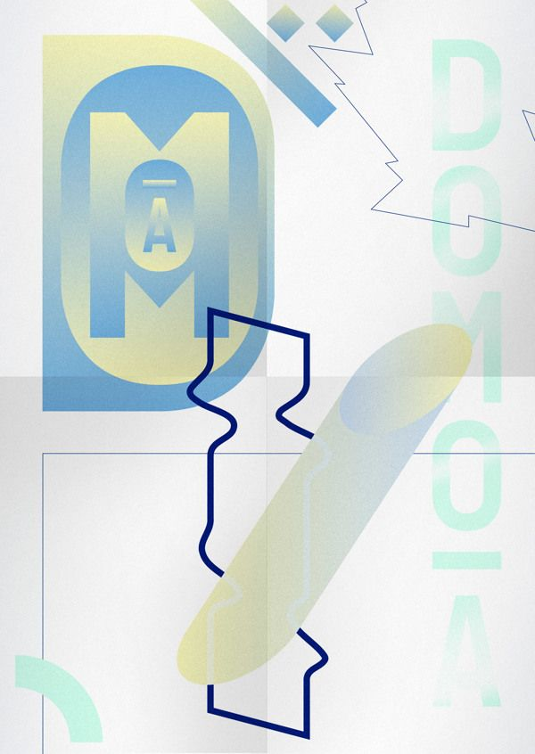 Poster II by DOMO-A, via Behance