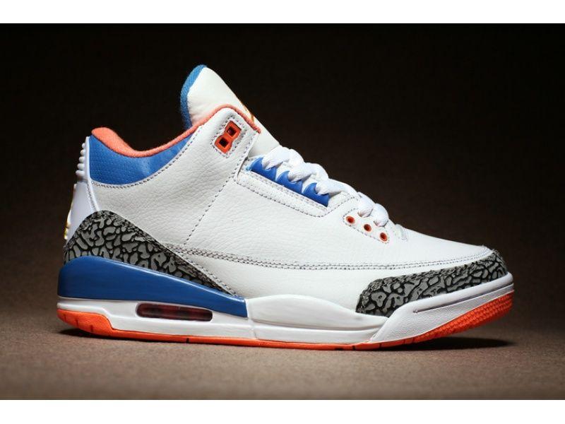 Air Jordan 3 White Cement True Blue