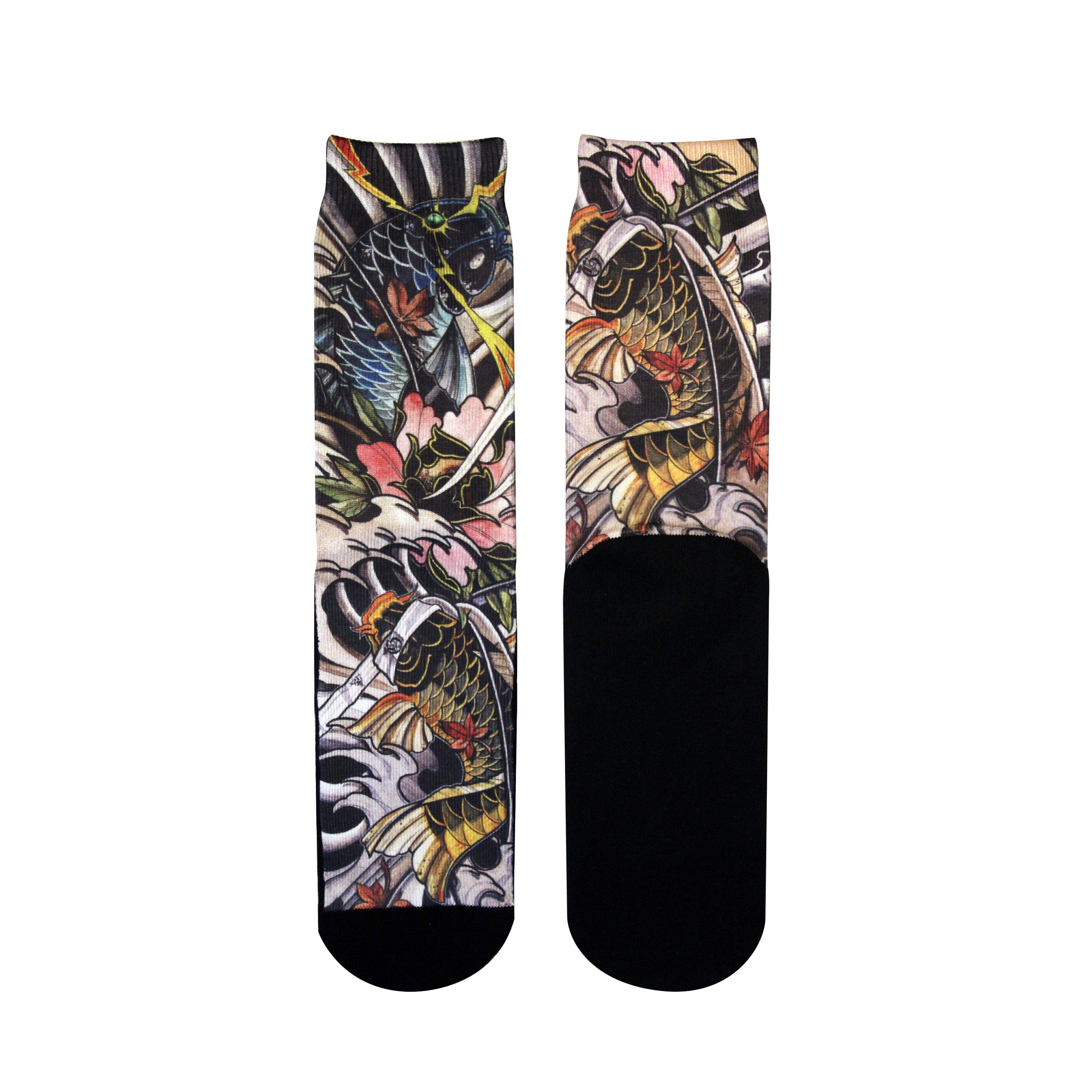 Best Tattoo Style Custom Elite Socks Made By Gold Ink Don T Miss