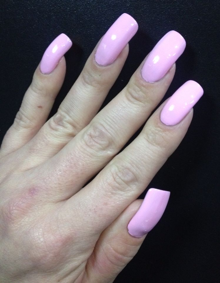 Beautiful Pink acrylic nails | 2. Double Team + Dynamicpunch ...