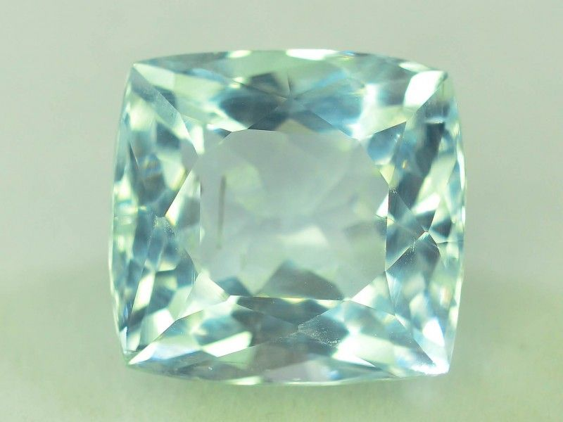 From Brazil Aquamarine Blue 100/% Natural Untreated Cushion Cut Stone Amazing Blue Fine Cut Faceted stone