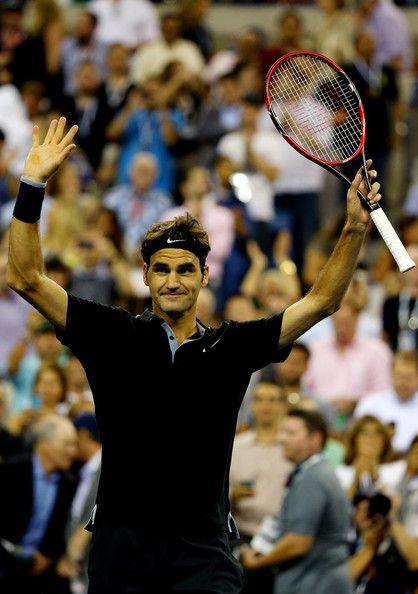 c8bdaaed19e0b5 Roger Federer Photos - US Open  Day 2 - Zimbio