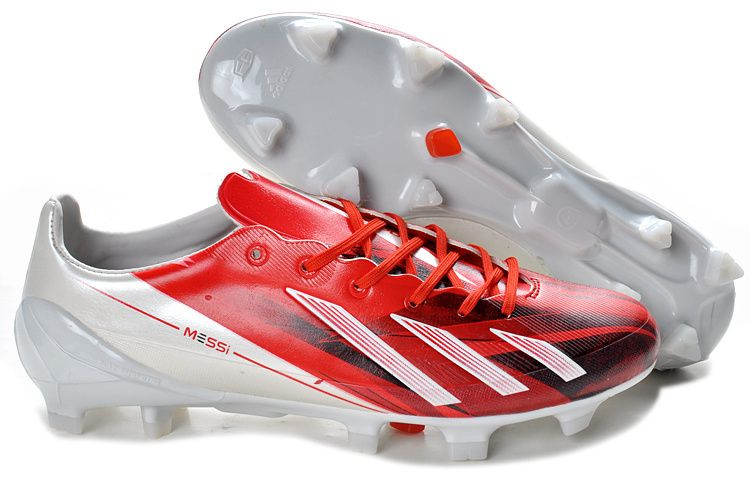 Adidas Adizero F50 TRX FG rouge blanc