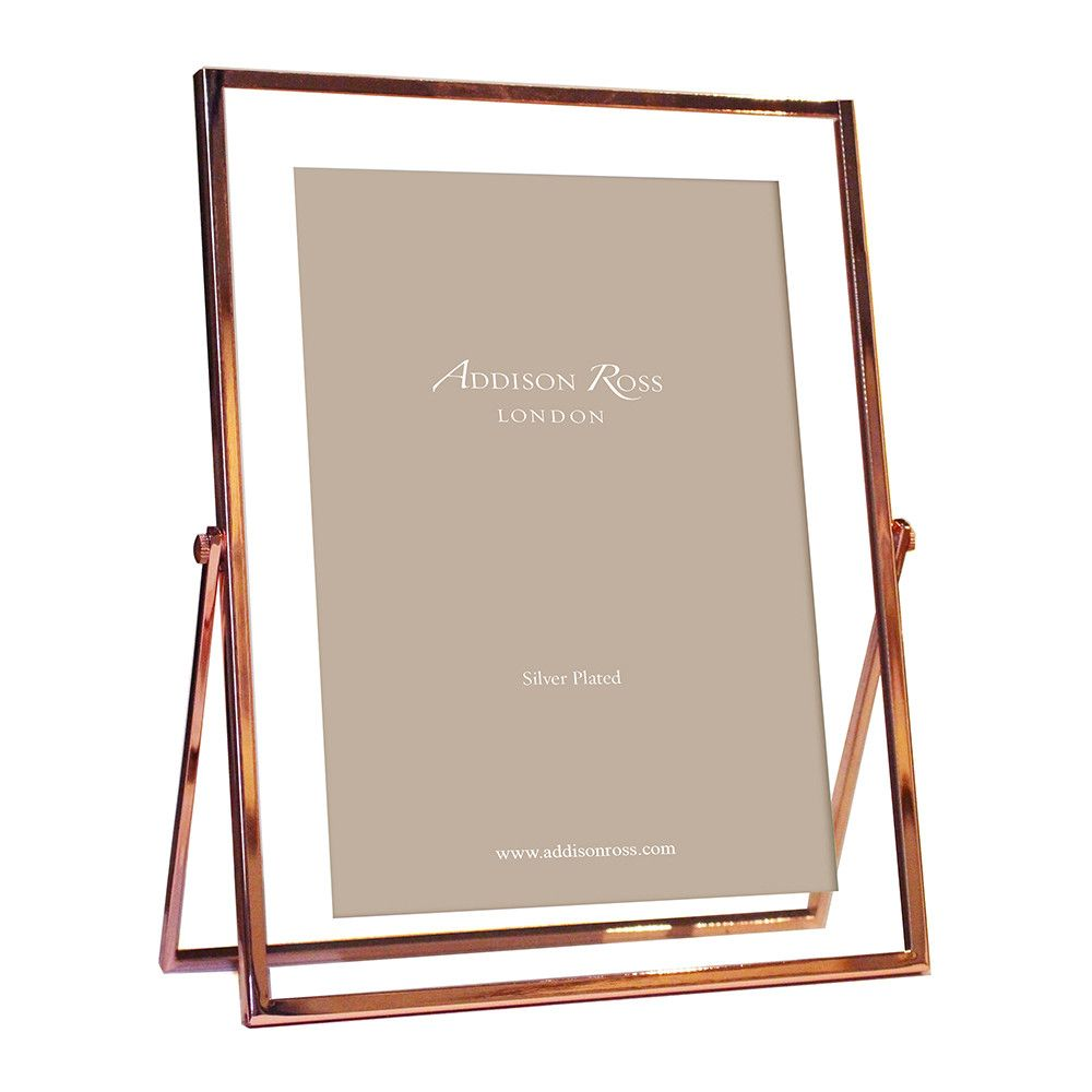 Rose Gold & Glass Photo Frame - 5x7\