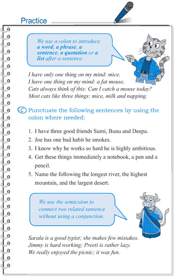 Grade 5 Grammar Lesson 16 Punctuation (7) | worksheets for school ...