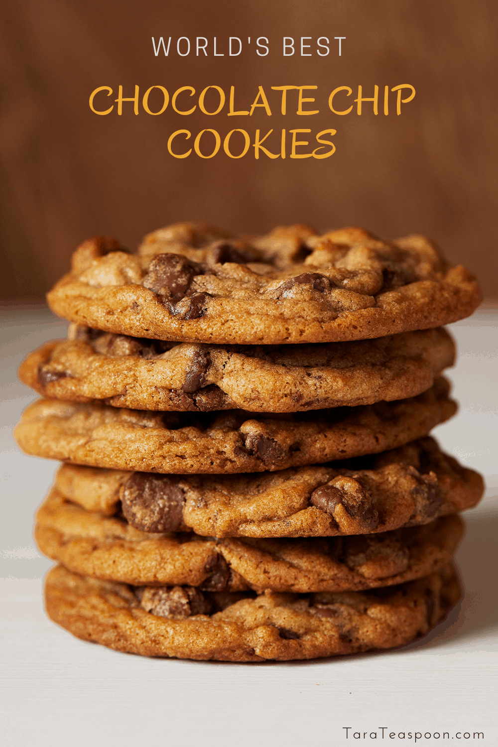 The Best Ever Chocolate Chip Cookies - Award Winning! | Tara Teaspoon