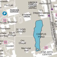 Campus Maps The Robsham Memorial Center For Visitors Umass
