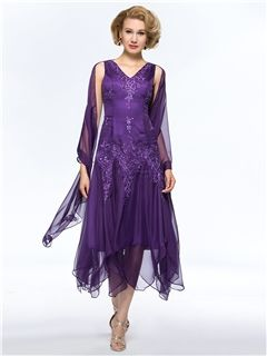 Cheap Brides Mother Buy Quality Mothers Dresses For Weddings Directly From China Bride Dress Suppliers Chiffon Tea Length Of The Lace