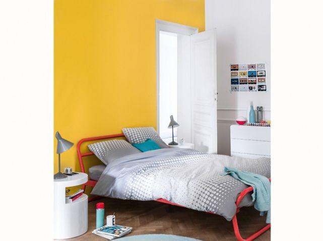 quelles couleurs choisir pour une chambre d 39 enfant murs jaunes mur et jaune. Black Bedroom Furniture Sets. Home Design Ideas