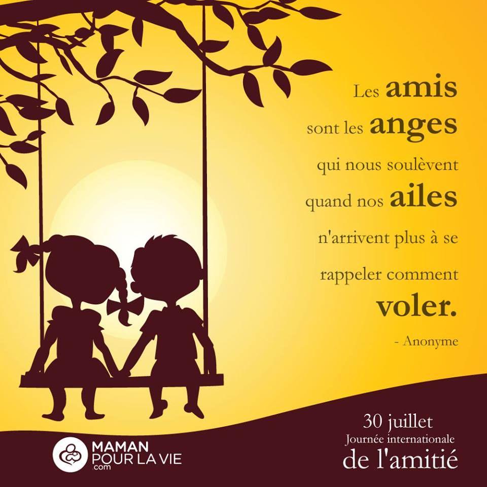 Les Amis Sont Les Anges Words Maman Pour La Vie J