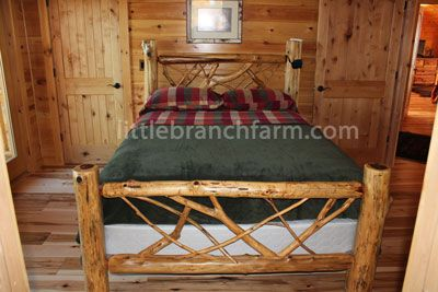 Log Cabin Style Headboards For King Size Beds Rustic Handcrafted Using Eastern Red Cedar