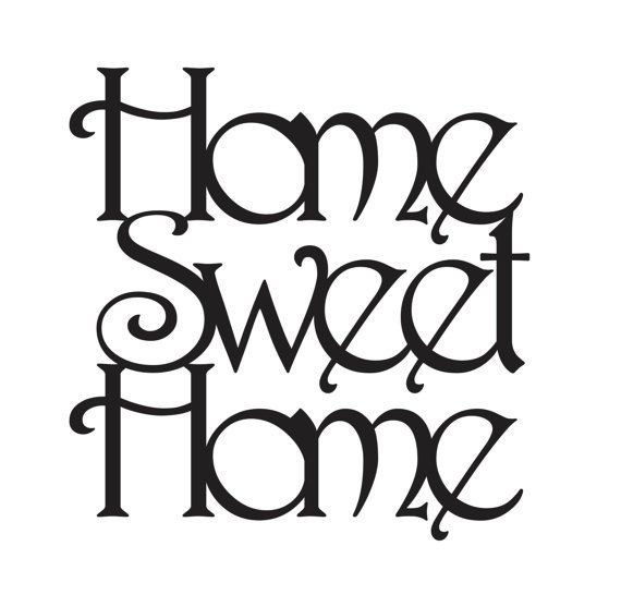 Home Sweet Home Home Sweet Home can be hung on a wall or add to a ...