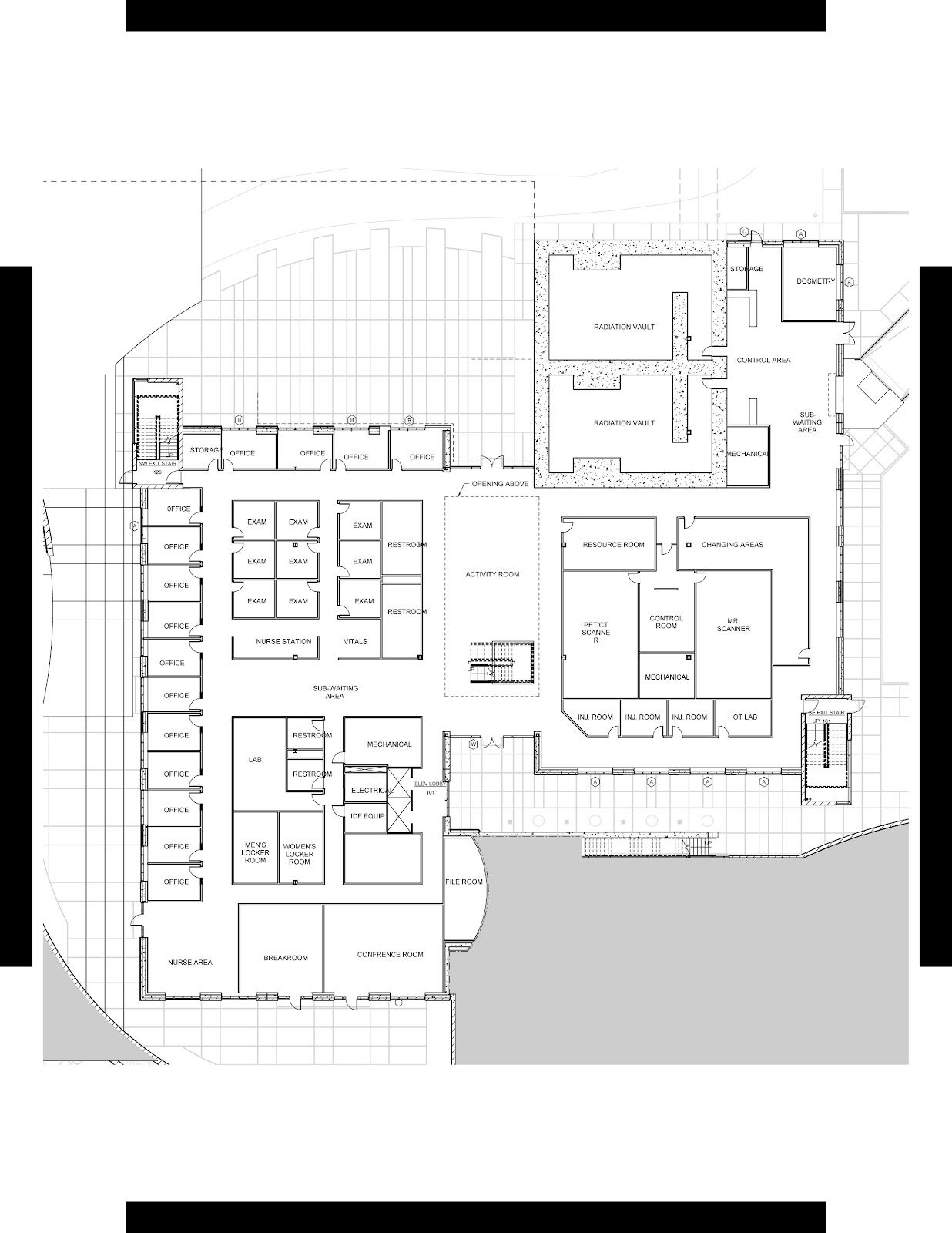 Oncology Center Floor Plans Oncology Floor Plan