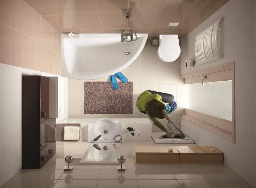 Mała łazienka Wymaga Szczególnie Starannego Zaplanowania